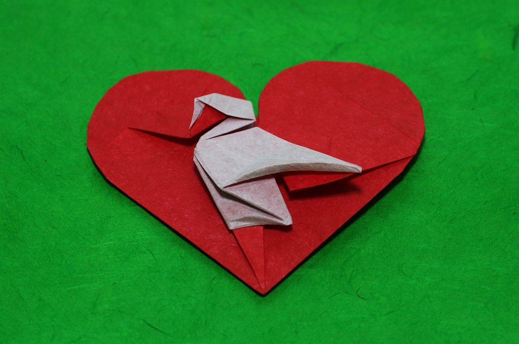 A Heart with a Swan 2